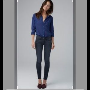 Velvet by Graham & Spencer dark blue skinny jeans